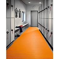 PVC badmat, 1000 mm breed, oranje