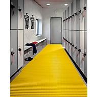 PVC badmat, 600 mm breed, geel