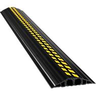 PVC-Industriekabelbrug, zwart/geel, 1.5m