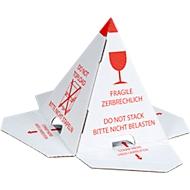 Pyramide anti-gerbage ou chapeau à palette, 40 pièces