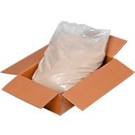 Quarz-Silbersand, wäschefeucht, Körnung 0,1-0,5 mm, 25 kg