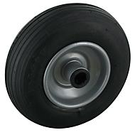 Rad mit Luftreifen, Rillenprofil, 200 x 50 mm, 80 kg Tragkraft