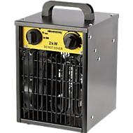 Radiateur soufflant Ventus 200, compatible 40 à 180 m³, électrique, 2 paliers de chauffe, 1 réglage de ventilation
