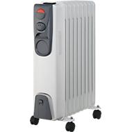 Radiateur thermiquesà l'huile, 9 éléments, puissance 2000 Watt
