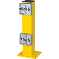 Rammschutz-Standpfosten mit Bodenplatte