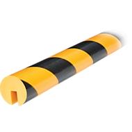 Randbeschermprofiel type B, m1, geel/zwart