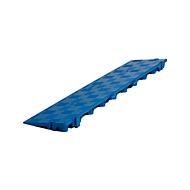 Randelement voor Clippy vloerrooster, blauw