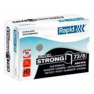Rapid SuperStrong nietjes 73/8, niet 10 tot 30 vellen, 5000 stuks