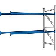 Rayonnage à palettes PR 350, module d'extension, avec traverses, 1800 x 2500 x 850 mm