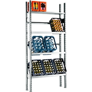 Rayonnage pour casiers, élément de base, 2278 x 1055 x 300 mm