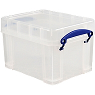 Really useful Box Opbergdoos met deksel, kunststof, transparant, 3 liter