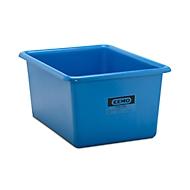 Rechteckbehälter Standard, GFK, 550 l, blau