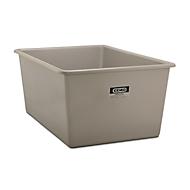 Rechthoekige container Standaard, GFK, 2200 l, grijs