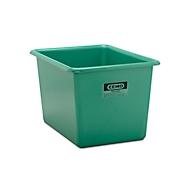 Rechthoekige container Standaard, GFK, 700 l, groen