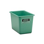 Rechthoekige container Standaard, groen, 200 l hoog