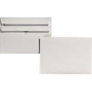 Recycling-Briefumschläge,DIN C6, ohne Fenster, selbstklebend