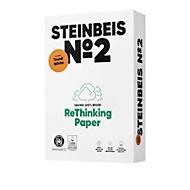 Recyclingpapier Steinbeis №2, DIN A4, 80 g/m², presseweiß, 5 x 500 Blatt