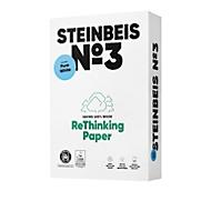 Recyclingpapier Steinbeis №3, DIN A4, 80 g/m², naturweiß, 1 Karton = 5 x 500 Blatt