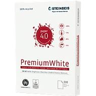 Recyclingpapier Steinbeis PremiumWhite, DIN A4, 80 g/m², naturweiß, 1 Karton = 5 x 500 Blatt