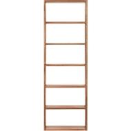 Regal Pombal, 6 Ordnerhöhen, erweiterbar, Breite 740 mm, Nussbaum