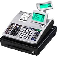 Registrierkasse Casio SE-S400SB-SR-FIS, GoBD/GDPdu-geeignet, 3 Schein-, 5 Münzfächer