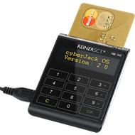REINERSCT USB-Chipkartenleser cyberjack go plus, 2 GB Speicher, elek. Signatur