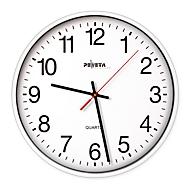 Reloj de pared de cuarzo, ø 220mm, blanco
