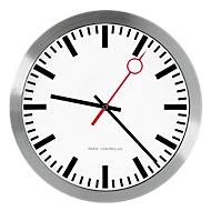 Reloj estilo estación con segundero rojo, Reloj radiocontrolado
