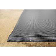 Resistente PVC Ergonomiematte 60x90, sw
