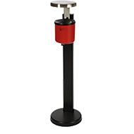 Rokerstatief Rondo Senior, inhoud 2,4 liter, met regenhoes, rood
