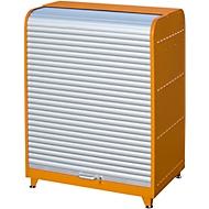 Rolkast voor gevaarlijke stoffen, Type RSG-1, oranje RAL2000
