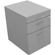 Rollcontainer ARLON-OFFICE, B 420 x T 560 x H 585 mm, lichtgrau