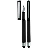 Rollerball Pierre Cardin Claudie, auch als Touch Pen für Smartphones & Tablets geeignet, schwarz