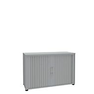 Rollladenschrank, 2 OH, 1teilig, ohne Mitteltrennwand, B 1200 mm, lichtgrau
