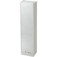 Rollladenschrank TARVIS, 5 Ordnerhöhen, abschließbar, B 500 x T 400 x H 2004 mm, lichtgrau/lichtgrau