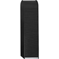 Rolluik voor hoge kast B 500 mm, zwart