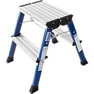 Rolly Doppel-Klapptritt, 2 x 2 Stufen, blau