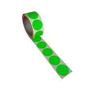 Ronde etiketten, ø 40 mm, 500 stuks, groen