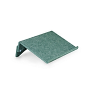 Ronde-lijn documenthouder Bakker Elkhuizen FlexDoc, 60% gerecycled materiaal, B 385 x D 260 x H 80 mm, groen