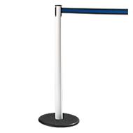 RS-GUIDESYSTEMS® afzetpaal met trekband GLA 28, wit, trekband zwart/blauw