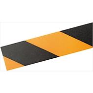 Ruban de marquage au sol Durable, bicolore, autocollant, longueur 30 m, noir/jaune