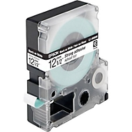 Ruban pour étiqueteuse Epson LC-4WBW9, 12 mm