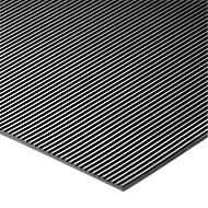 Rubberen loper COBArib, m1 x B 900 mm, materiaaldikte 3 mm