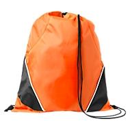 Rucksack-Beutel Westford, 210D-Polyester, mit Zugkordel, farblich abgesetzte Ecken, orange