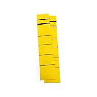 Rückenschild, Rückenbreite 39 mm, selbstklebend, 10 Stück, gelb