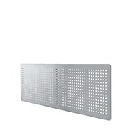 Rückseitenblende für Schreibtisch 135°, weißalu