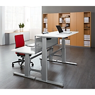 Rückseitenblenden, für Schreibtisch mit Ansatz