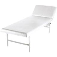 Ruheraum-Liege, 2000 x 700 x 500 mm, weiß
