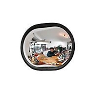 Ruimtespiegel, ovaal, 1 kg, 360 x 260 x 75 mm, 360 x 260 x 75 mm
