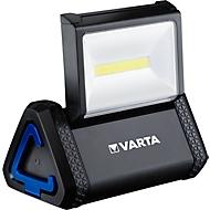 Ruimteverlichting VARTA WORK Flex, COB LED, 2 lichtstanden, IP54, 3-voudige bevestiging